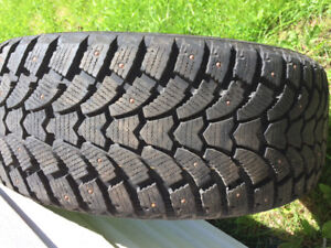 4 studded winter tires New
