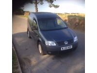 VW Volkswagen caddy 2.0 TDI 104 2008,£3995 no vat
