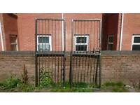 8ft x 8ft Metal Gates