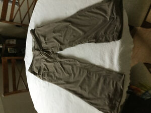 LL Bean comfort trail pants and capris,swimsuit