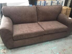 3 seater sofa ( new ). £195. Rrp £725