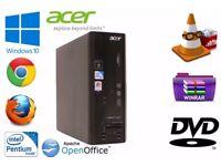 ACER VERITON X270 PENTIUM DUAL-CORE Tower - 2.50 GHz /4GB HDMI windows 10 pro