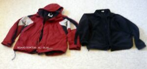 3 IN 1 - SPORTY JACKET - DETACHABLE FLEECE - XL - WARM & CLEAN