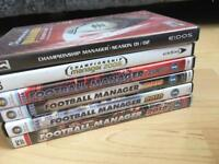 Retro football manager and champ manager games for PC