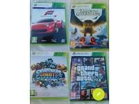 Xbox 360 games mix n march £5 each or 4 £15