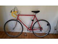 Wonderful Red CARLTON CORSAIR Original Vintage Bicycle