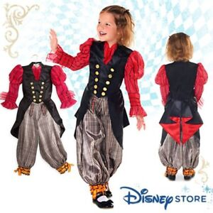 NEW Disney Alice Through the Looking Glass Girl's Costume 9/10