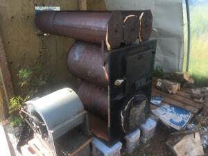 Garage/Shop wood furnace