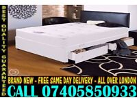 BRAND NEW Double Single King Size Dlvan Bed WITH MATTRESS. Curtis
