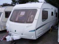 2005 Abbey Spectrum 620, 5 berth caravan, awning & extras
