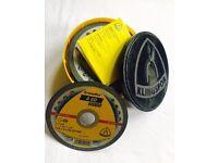 Box of 28 KLINGSPOR A60 Extra Cutting discs wheels 125 x 1 x 22.23 (5')inox steel