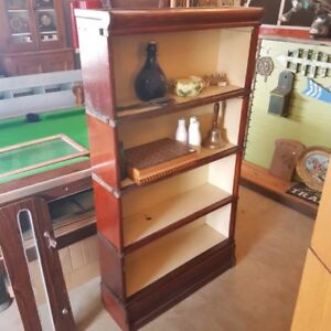 Oak barristers bookcase