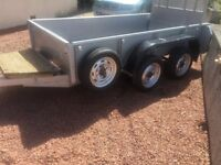 Ifor Williams GD84 Twin Axle 8x4 Plant Trailer 2000kg