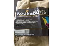Kookaburra 3m square sand shade sail