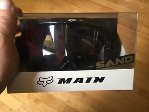 Black Fox dirt bike goggles for sale