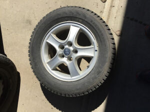 winter nokian tires and rims  + all season tires