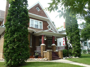 One bedroom suite for rent in beautiful brick heritage home
