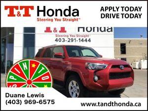 2015 Toyota 4Runner SR5 V6 *Bluetooth, Backup Cam, Roof Rails