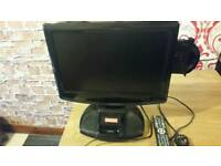 17inch monitor tv dvd and iPod player