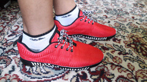 Brand new, NEVER WORN red shoes