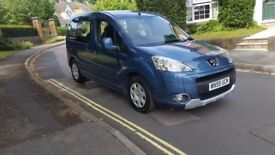 2009 PEUGEOT PARTNER TEEPE S 1.6 HDI BLUE MPV 2 PREVIOUS OWNERS FULL SERVICE HISTORY MOT MAR 18