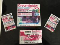 Creamfields ticket for sale