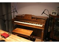 Lovely Compact American Made Upright Piano