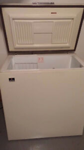 White-Westinghouse Chest Freezer with a Lock
