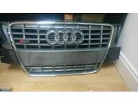 Audi S5 Front Grill Grey