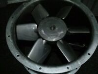 FLAKT WOODS 50JM LONG CASED CO AXIAL EXTRACTOR FAN
