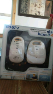 Vtech safe and sound baby monitor.