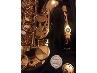 Saxophone yamaha alto yas 480 new and unused