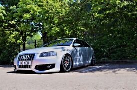 STANCED AUDI A3 SLINE, S3, BAGGED, AIR RIDE *HUGE SPEC*