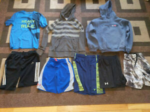 Boys Hoodies, Shirt and Shorts