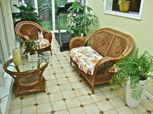Wicker Summer Furniture Set