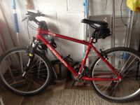 Mountain Bike in very good condition no longer required need a new home.