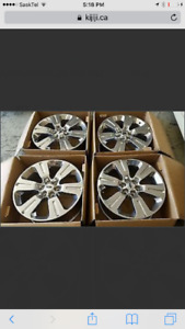 2016 F150 Limited 22 inch factory rims like new!