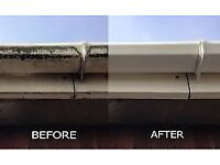 Fascia soffit gutter and roof cleaning service