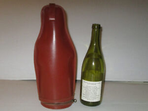 Fine Leather Wine Bottle Carrier by Birks
