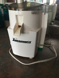 The Juiceman II fruit and vegetable juicer