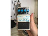 BOSS DD3 Delay guitar pedal