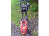 Red heavy duty power wash
