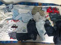 Small baby boy clothes bundle