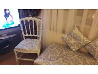 Bedding box and chair