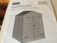 Keter 6 x 5 Manor Shed