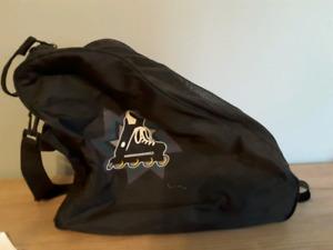 sac de transport et equippement de rollerblade  5.00$