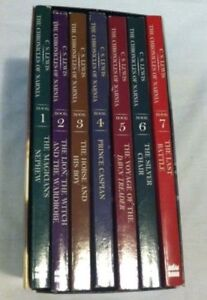 COMPLETE NARNIA BOOKSET MINT CONDITION****