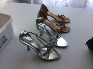 Assorted women's shoes