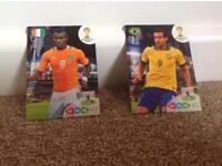 Panini Fifa World Cup cards.