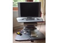 TV, Video, DVD Player and Stand, Clydebank